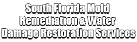 South Florida Mold Remediation & Water Damage Restoration Services Logo-We offer home restoration services, water damage restoration, mold removal & remediation, water removal, fire and smoke damage services, fire damage restoration, mold remediation inspection, and more.